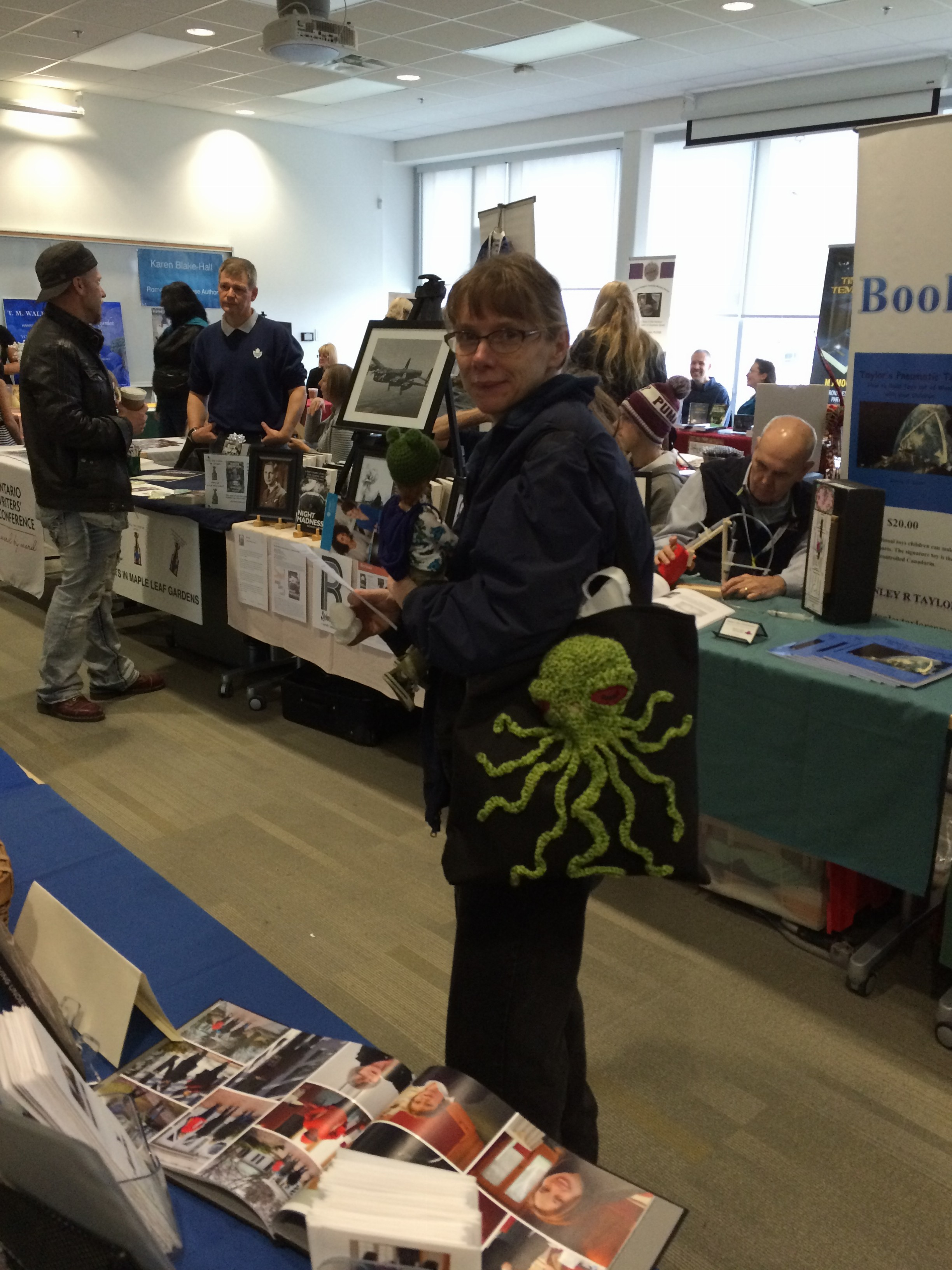 Cthulhu spotted at Bookapalooza!