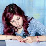 Wattpad writer writing